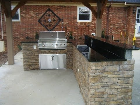 Outdoor Kitchen, Grill and Patio Ideas 5 24 14