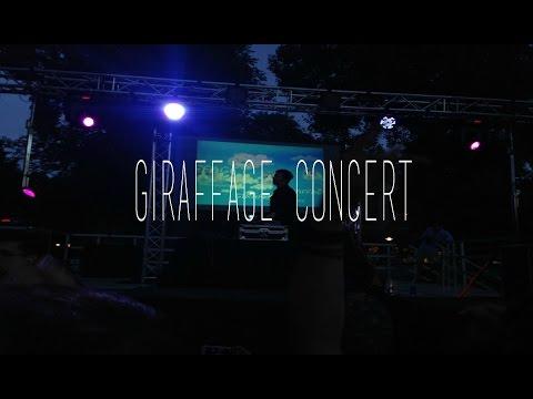 GIRAFFAGE CONCERT || UC Davis Lawntopia (Summer 2015)