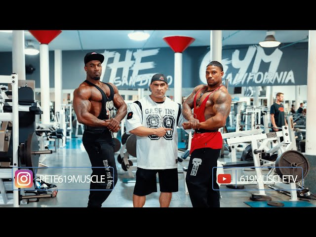 619 MUSCLE TV: Training Series - Back-Thrashing w/ Feddy Moe and Antonio Roseboro 10 wks from ASC!