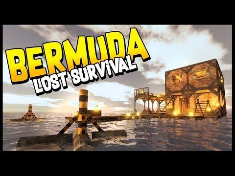Bermuda Lost Survival - RAFT MEETS STRANDED DEEP! Open World Survival In The Bermuda Triangle!