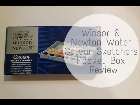 Papercraft Winsor & Newton Sketchers Pocket Box - Review