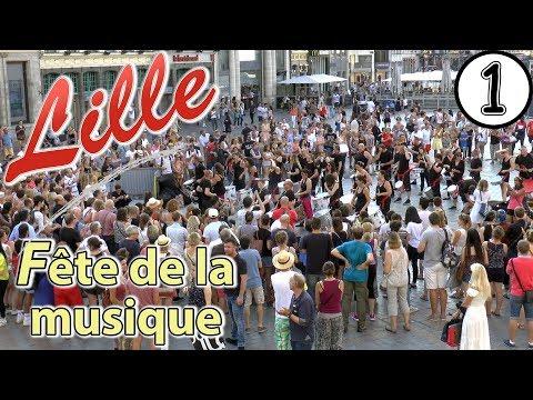 CAPANGA │ Batucada afro brésilienne. Fête de la Musique à Lille. HD Video 1.