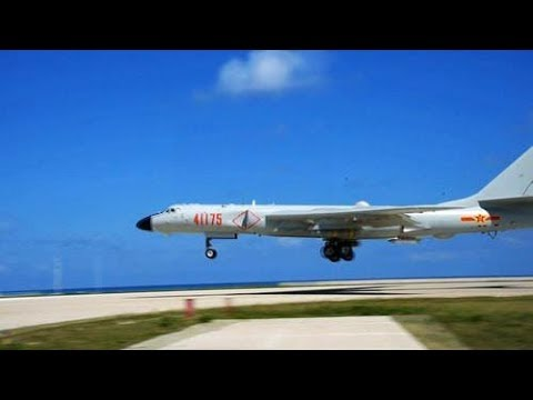 PLA lands strategic bomber on South China Sea island for first time