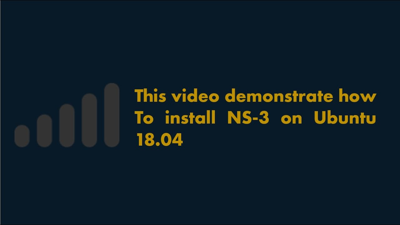 NS-3 29 allinone (Network Simulator) Step by Step