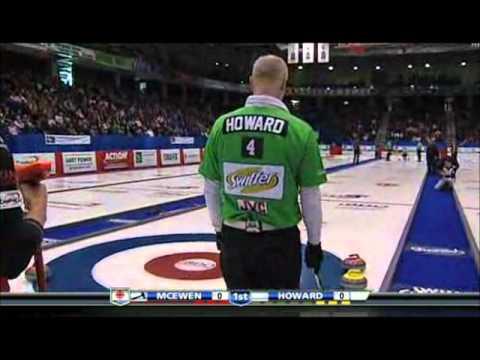 2011 BDO Canadian Open - Final - Richard Hart across the house double