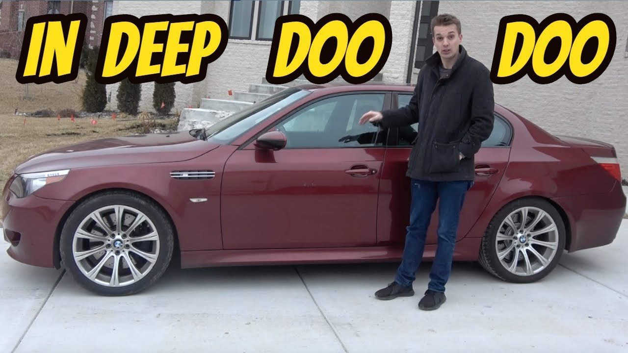 Will the Cheapest BMW M5 Ever Be Finished? A Bottomless Pit of Repairs