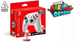 Possible New Switch Pro Controller?! (Super Mario Odyssey FAN MOCK)