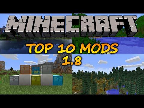 Top 10 Minecraft Mods (1.8)