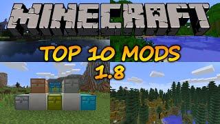 Top 10 Minecraft Mods (1.8) - 2015