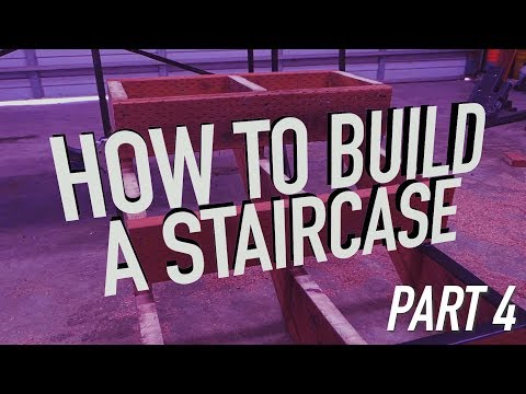 How To Build Stairs PART 4: Installation || Dr Decks