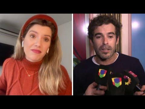 Laurita Fernández charla con LAM
