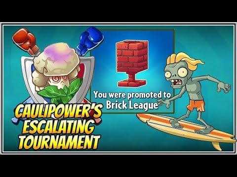 Plants vs Zombies 2 BattleZ - The Official Caulipower's Escalating Tournament - Brick League