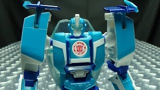 Robots in Disguise Combiner Force Warrior BLURR: EmGo's Transformers Reviews N' Stuff