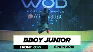 BBOY JUNIOR | FrontRow | World of Dance Spain Qualifier 2018 | #WODSP18