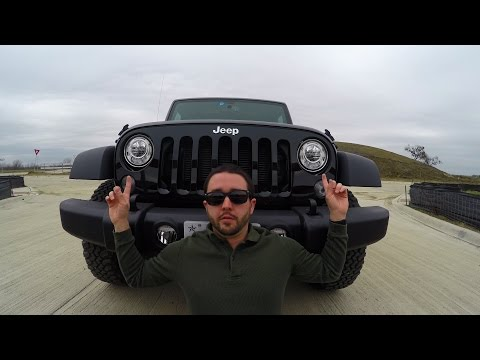 Showing off the 2017 Jeep Headlights