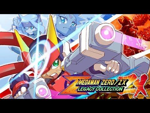 Mega Man Zero/ZX Legacy Collection - ZX Advent (Switch Version)