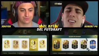 ¡EL REY DEL FUT DRAFT vs ROBERT PG ! ¡¡A por el mejor equipo!!