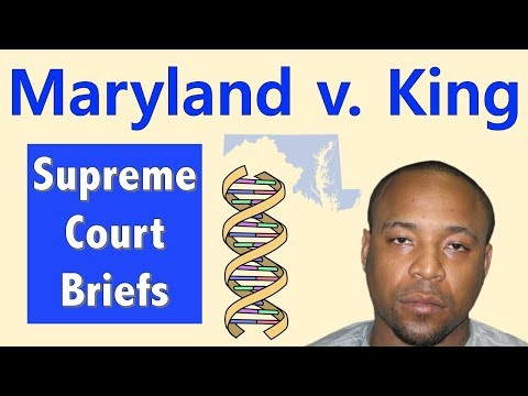 Can The Police Take Your DNA? | Maryland V. King