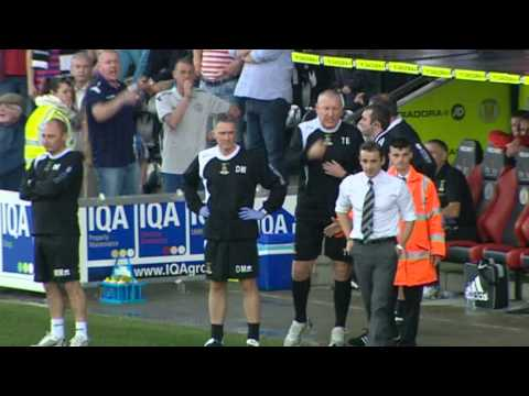 SPL Bust Up - Terry Butcher and Danny Lennon