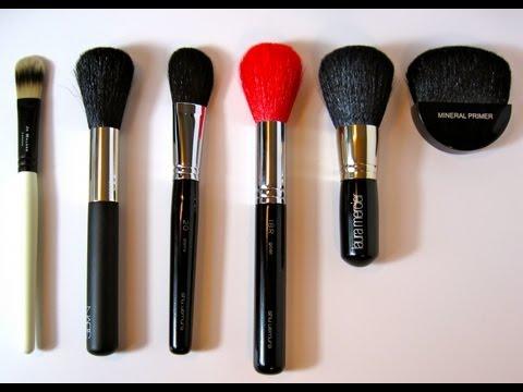 ❧❦ Makeup Brush Haul - NARS, Shu Uemura, Laura Mercier ❦❧