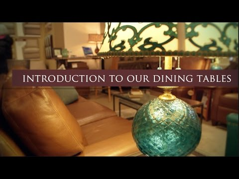 Introduction to dining room tables-Furniture store in Alexandria