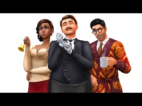 Sims 4 | Vintage Glamour Stuff Pack | Review and First Impressions!