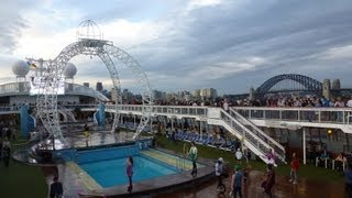 Pacific Jewel Ship Tour vessel video