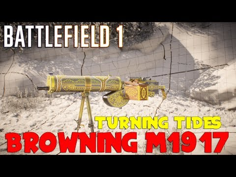 Battlefield 1 - BROWNING M1917 - Turning Tides CTE - Live Commentary Gameplay ITA