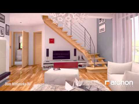 House Miniature - 3D interior virtual walkthrough tour - ARCHON