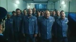 Zaporniki pojejo Hej Slovani