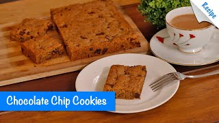 Chocolate Chip Cookies Recipe - English