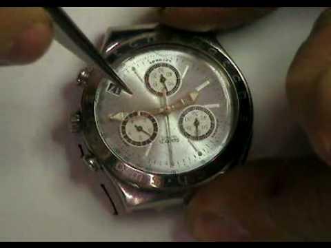 Restauro Orologio Swatch Irony 1/8