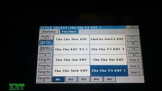 Sơ Lược SET V3.1 Cho Pa600-900-3XLe Phần 2 : Dân Ca