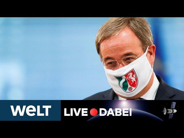 CORONAVIRUS IN NRW: Statement Ministerpräsident Armin Laschet zur Corona-Lage