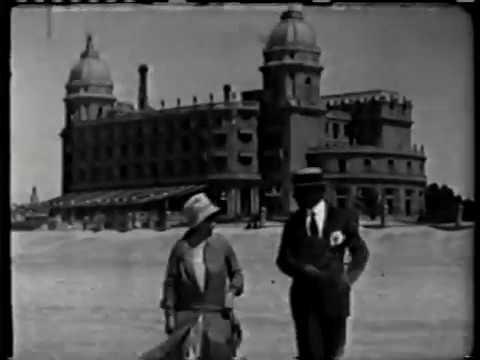 Peliculas Antiguas de Uruguay - Inauguracion Ferrocarril a Garzón (1928)