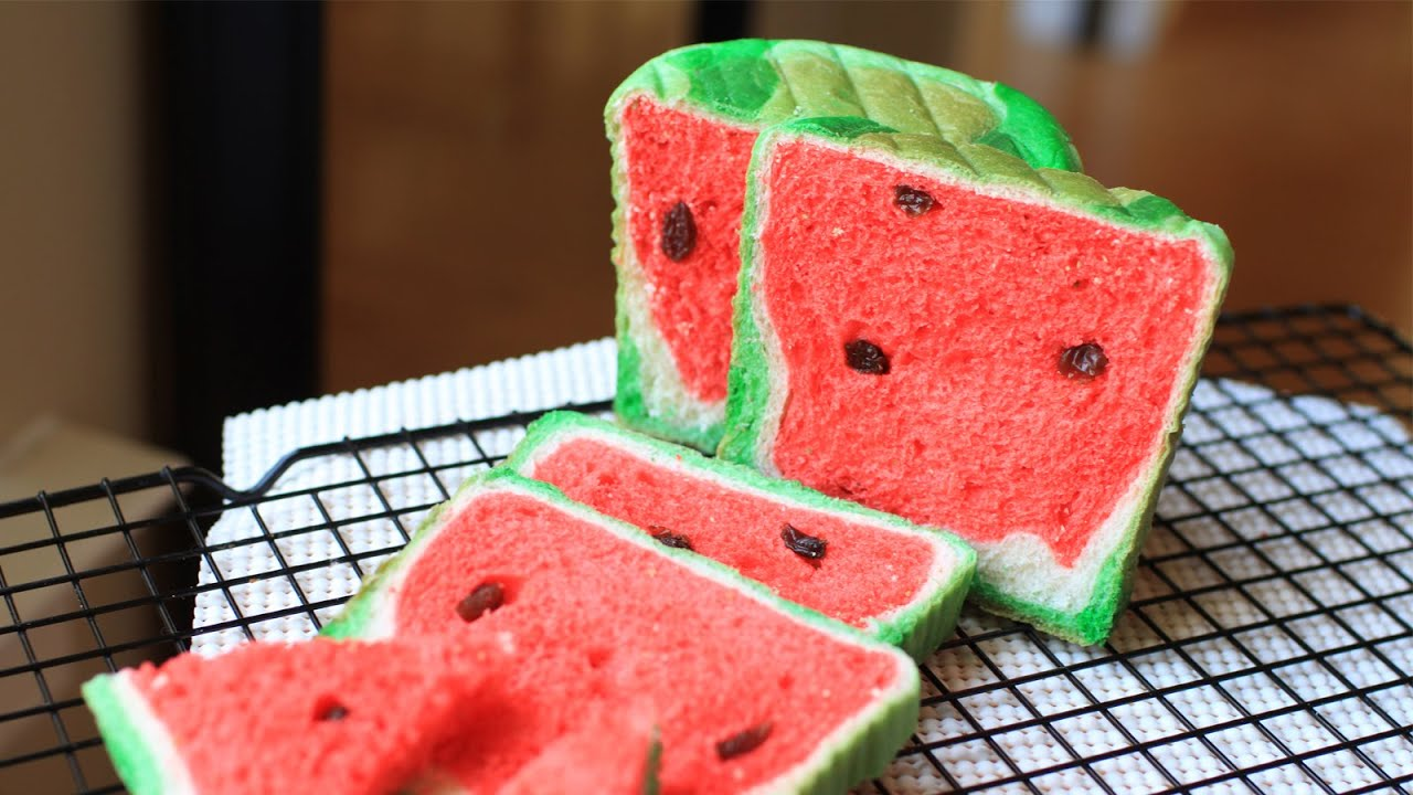 "Watermelon Bread Recipe ǃ¤è¥¿ç""œé¢åŒ… Youtube"