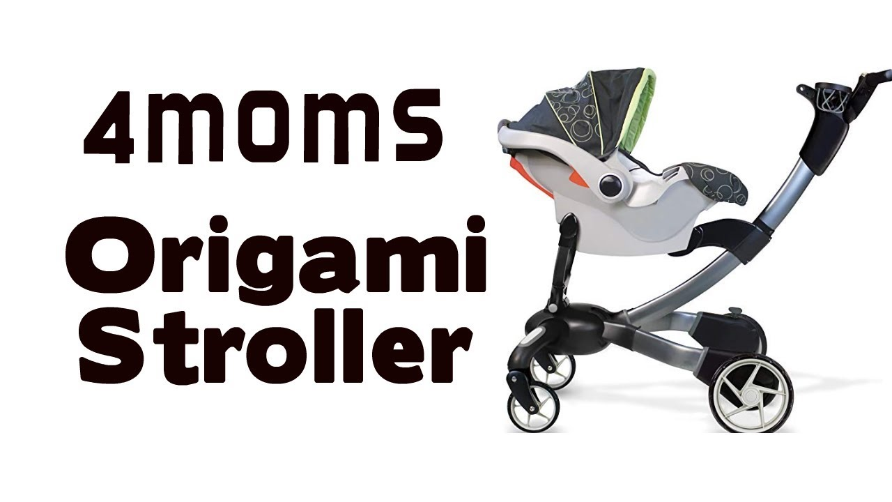 Hands On With The 4Moms Origami Stroller - YouTube | 720x1280