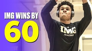 IMG Hands Julian Newman and Downey Christian a 60-point Loss - Full Game Highlights