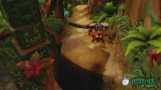 Crash Bandicoot - Level 2 Jungle Rollers Platinum/ Gold Relic Speedrun
