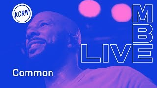 "Common performing ""My Fancy Free Future Love"" live on KCRW"