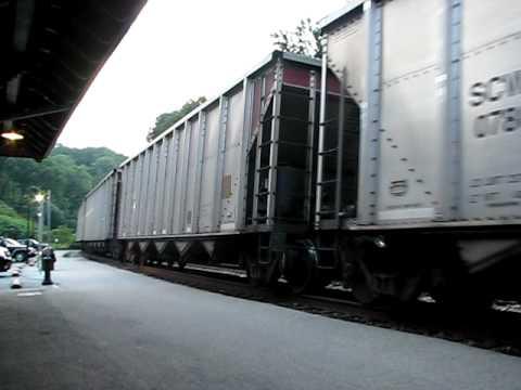 CSX Coal Train At Harpers Ferry WV