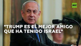 """Netanyahu a Trump: """"Usted el mejor amigo que Israel ha tenido en la Casa Blanca"""""""