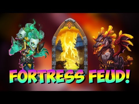 Fortress Feud On My Main Account... INTENSE BATTLES!!!