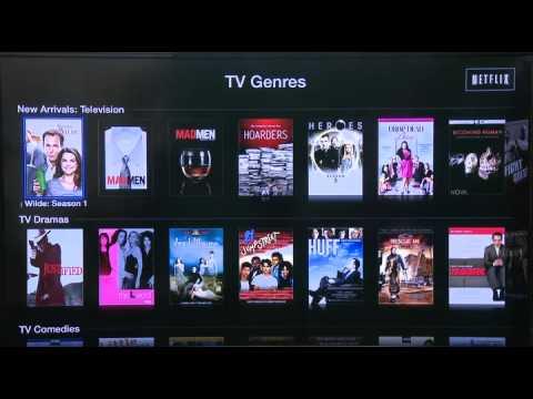 Accessing Netflix through AppleTV