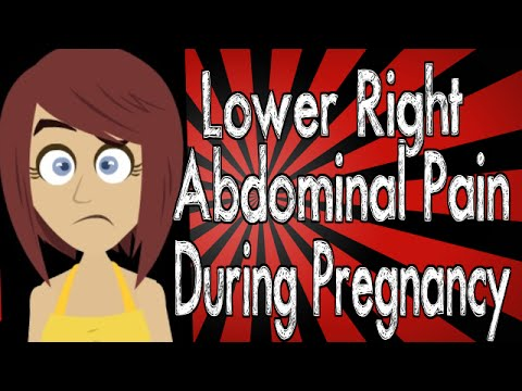 Lower Right Abdominal Pain During Pregnancy Youtube