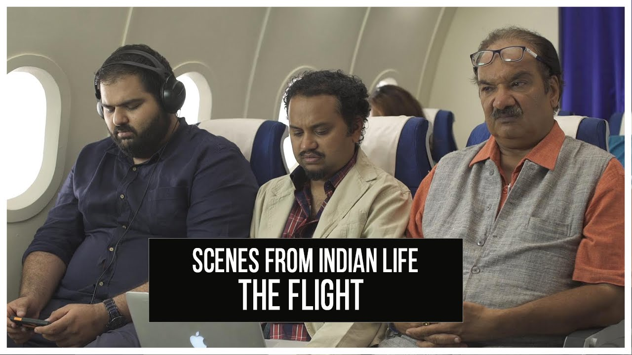 Scenes From Indian Life | The Flight #LaughterGames
