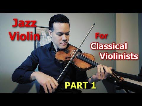 Jazz Improvisation for classical violinists!