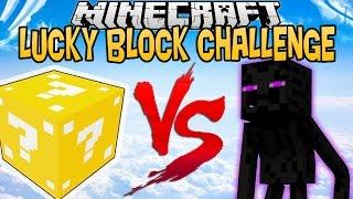 LUCKY BLOCK VS MUTANT ENDERMAN ! | LUCKY BLOCK CHALLENGE Avec DarkHeaven !