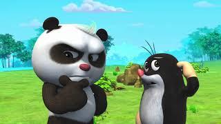 Кротик и Панда -  46 - Новые мультики для детей