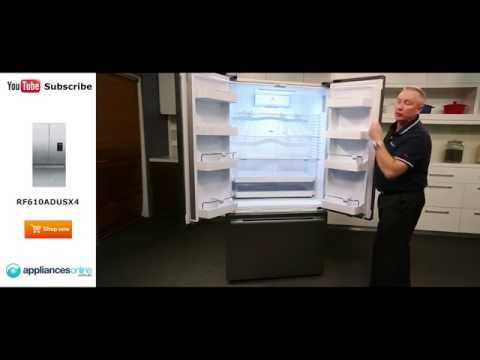 Expert Review Of The 614L Fisher & Paykel 3 Door Fridge RF610ADUSX4 - Appliances Online